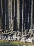 Basalt Columns by Fingal's Cave, Staffa, Off Isle of Mull, Scotland Photographic Print by David Wall
