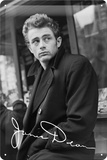 James Dean Look Tin Sign