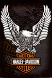 Harley Davidson - Eagle Poster