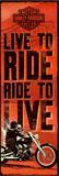 Harley Davidson - Live to Ride Photo