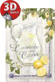 Limonade au Citron Blikskilt