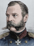 Alexander Ii (1818-1881). Tsar of Russia (1855-1881) Photographic Print by  Prisma Archivo