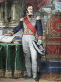 Louis-Philippe I (Paris, 1773-Claremont, 1850). King of France (1830-1848) Photographic Print by  Prisma Archivo