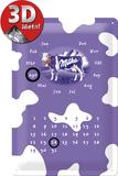Milka Kalender Plaque en métal