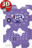 Milka Kalender Tin Sign
