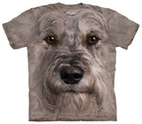 Miniature Schnauzer Face T-shirts