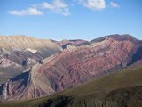 Cerro Santana Rock Formation, Humahuaca Region, Jujuy Province, Argentina Photographic Print by Jutta Riegel
