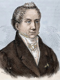 Karl Wilhelm Friedrich Schlegel (1772-1829). German Poet, Critic and Scholar Photographic Print by Prisma Archivo 