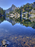 Chair Peak, Gem Lake, Alpine Lakes Wilderness, Washington, Usa Photographic Print by Jamie & Judy Wild