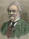 Werner Von Siemens (Lenthe, 1816-Charlottenburg, 1892). German Engineer Photographic Print by Prisma Archivo