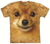 Pomeranian Face T-shirts