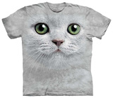Green Eyes Face T-Shirt