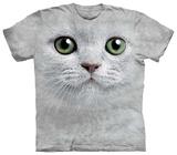 Green Eyes Face T-skjorter