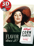 Kellogg's Flavor Does It Tin Sign