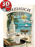 Jamaica Rum Tin Sign