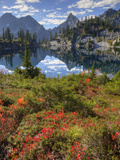 Gem Lake, Alpine Lakes Wilderness, Washington, Usa Photographic Print by Jamie & Judy Wild