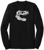 Long Sleeve: T-Rex Dinosaur T-Shirt