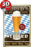 Weißbier Tin Sign