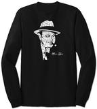 Long Sleeve: Al Capone - Original Gangster - T-shirt