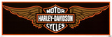Harley Davidson - Wings Prints