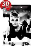 Audrey Hepburn Foto Tin Sign
