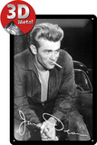 James Dean Smoke Plaque en m&#233;tal