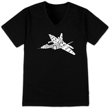 V-Neck - Need for Speed - Fighter Jet T-skjorte