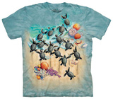 Green Turtle Hatchlings Shirts