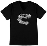 V-Neck - T-Rex Dinosaur T-shirts