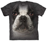 French Bulldog Face T-shirts