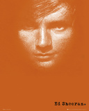 Ed Sheeran-Album Posters