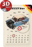 Trabant Kalender Tin Sign