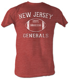 USFL - Generals T-shirts
