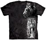 White Tiger Stripe T-skjorte