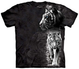 White Tiger Stripe Tshirt