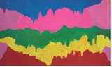 Ecstasy Stretched Canvas Print by Mary Heilmann