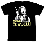 Saturday Night Live - More Cowbell! T-shirts