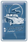 Trabant Prototyp P50 Tin Sign