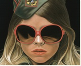 Scout - crop Reproduction transférée sur toile par Richard Phillips