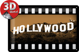 Hollywood Tin Sign