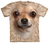 Chihuahua Face T-skjorter