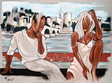 Au Fil de L'Eau Affiches par Pierre Farel