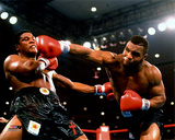 Mike Tyson 1986 Action Fotografía