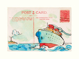 Carte Postal V Prints by Claire Fletcher