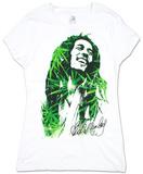 Women's: Bob Marley - Leaves Camisetas