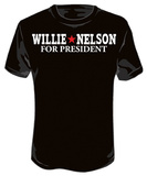 Willie Nelson - For President Shirts