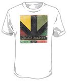 Ziggy Marley - Wild And Free Logo T-shirts