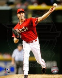 Randy Johnson 2008 Action Photographie