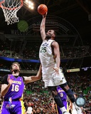Al Jefferson 2011-12 Action Photo