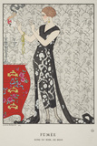 Fumee Prints by Georges Barbier